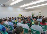 Palestras da Caravana Soja Brasil reúne mais de 150 agricultores no auditório do Sindicato Rural em Água Boa