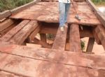 Prefeitura de Nova Nazaré reforma pontes do Rio Borecaia