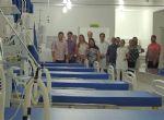 Prefeito visita obras de adequação e modernização no pronto socorro de Barra do Garças, UTI com 10 leitos deverá ser entregue na quinta