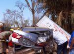 Iporá (GO) - Condutor de F 4000 morador de Nova Mutum morre vítima de acidente em desvio na GO-060