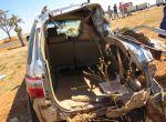 Colisão de SW4 com carreta na BR-158 deixa quatro feridos