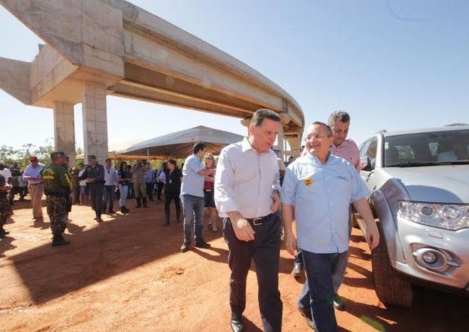 Cocalinho - Marconi diz que Brasil precisa de mais pontes