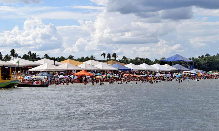 cc34c18d0851 Diversas cidades do Tocantins lançaram, neste final de semana, a Temporada  de Praias 2015, como em Porto Nacional