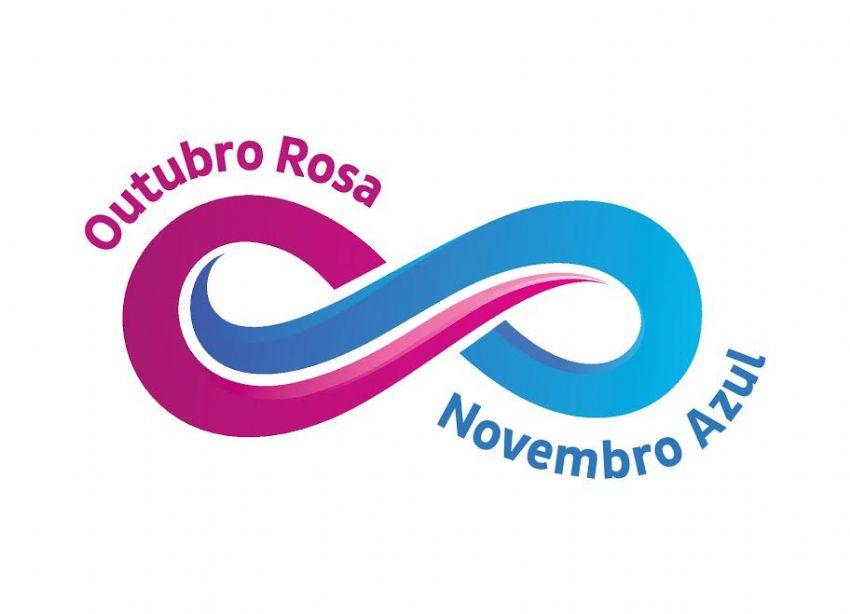 Resultado de imagem para outubro rosa & novembro azul - logos