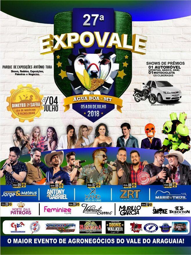 27ª Expovale revela detalhes sobre a grade de shows