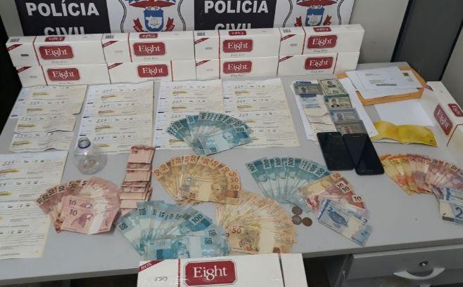 4e588ae96ef Pontes e Lacerda - Quadrilha que aplicava golpes através de sites da  Internet é presa. Foto  Assessoria Polícia Civil