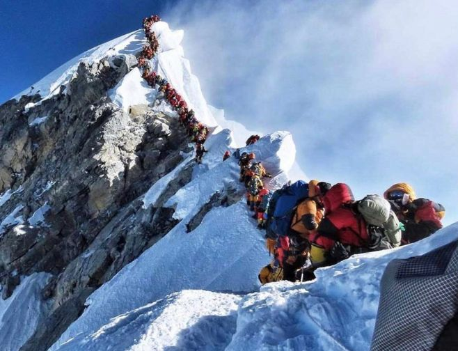 Corpo humano 'desliga' na Zona da Morte do Everest