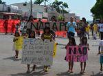 Indígenas do Xingu protestam contra a PEC 215