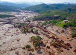 Onda de rejeitos da Samarco atingiu 663 km de rios e devastou 1.469 hectares de terras