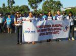 Desfile comemorativo aos 41 anos de Água Boa
