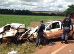 Sinop-Cláudia -  Quatro mortos em acidente na rodovia MT-423