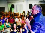 Servidores e voluntários elogiam Caravana da Transformação em ato pró-reeleição