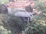 BR-158 - Lutador e pai morrem após carro capotar; esposa e filhos estão feridos